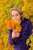 Portret van de vrouw Stock Fotografie