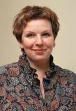 Portret van de vrouw. Royalty-vrije Stock Fotografie
