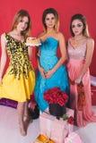 Portret van drie jonge sexy vrouwen Royalty-vrije Stock Foto