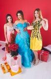 Portret van drie jonge sexy vrouwen Royalty-vrije Stock Fotografie