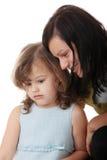 Portret van een 5 éénjarigenmeisje Stock Foto's
