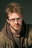 Portret van een aantrekkelijke mens Royalty-vrije Stock Afbeelding