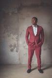 Portret van een Afrikaanse Amerikaan Royalty-vrije Stock Foto