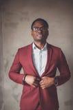 Portret van een Afrikaanse Amerikaan Stock Fotografie