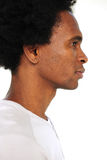 Portret van een Afrikaanse Amerikaanse mens royalty-vrije stock foto