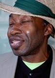Portret van een Afrikaanse Amerikaanse mens Stock Afbeeldingen