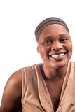 Portret van een Afrikaanse vrouw stock foto's