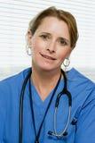 Portret van een arts stock afbeelding