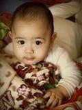Portret van een babyjongen Royalty-vrije Stock Fotografie