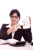 Portret van een bedrijfsvrouw Stock Fotografie