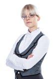 Portret van een bedrijfsvrouw royalty-vrije stock foto's