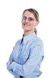 Portret van een bedrijfsvrouw royalty-vrije stock foto