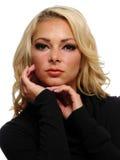 Portret van een blonde vrouw Royalty-vrije Stock Fotografie