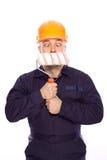 Portret van een bouwer Royalty-vrije Stock Foto