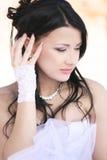 Portret van een bruid Stock Afbeeldingen