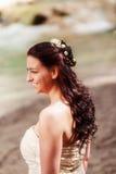 Portret van een bruid Stock Fotografie