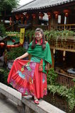 Portret van een Chinese vrouw Royalty-vrije Stock Foto