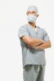 Portret van een chirurg royalty-vrije stock foto's