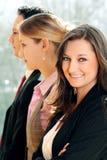 Portret van een commercieel team Royalty-vrije Stock Fotografie
