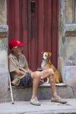 Portret van een Cubaanse Mens Stock Fotografie