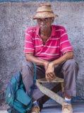 Portret van een Cubaanse Mens Stock Foto's