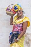 Portret van een Cubaanse vrouw Royalty-vrije Stock Fotografie