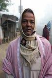 Portret van een daghandarbeider stock foto's