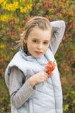 Portret van een de lentemeisje royalty-vrije stock afbeelding