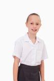 Portret van een ernstig meisje Stock Foto's