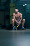 Portret van een fysisch Geschikte Mens Stock Fotografie
