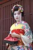 Portret van een Geisha Royalty-vrije Stock Foto's