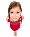 Portret van een gelukkig meisje Royalty-vrije Stock Fotografie