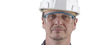 Portret van een geïsoleerdeq technicus Royalty-vrije Stock Afbeelding