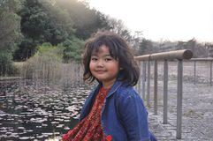Portret van een Glimlachend Kind Royalty-vrije Stock Foto's