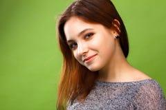 Portret van een glimlachend meisje Royalty-vrije Stock Foto