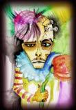 Portret van een griezelig schepsel Royalty-vrije Stock Afbeeldingen