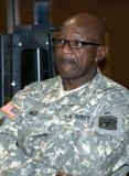 Portret van een het Legermilitair van Verenigde Staten stock foto's