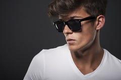 Portret van een hipster Royalty-vrije Stock Foto