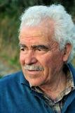 Portret van een hogere landbouwer Stock Fotografie