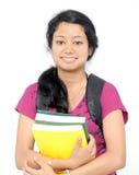 Portret van een Indische tienerstudent. Stock Afbeeldingen