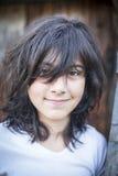 Portret van een jong emotioneel meisje Royalty-vrije Stock Fotografie
