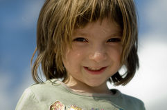 Portret van een jong kind royalty-vrije stock afbeeldingen