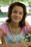 Portret van een jong meisje stock foto
