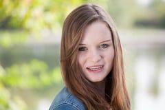Portret van een Jong Meisje Stock Afbeelding