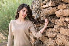 Portret van een jong mooi meisje royalty-vrije stock foto's