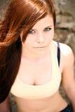 Portret van een jong mooi meisje stock fotografie