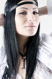 Portret van een jong mooi meisje Royalty-vrije Stock Fotografie