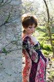 Portret van een jong zwanger meisje stock fotografie