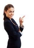 Portret van een jonge aantrekkelijke bedrijfsvrouw Stock Foto