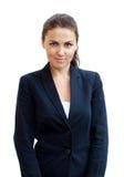 Portret van een jonge aantrekkelijke bedrijfsvrouw Stock Afbeelding